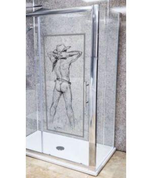 Art Mural Sticker Decal for Glass by Mervyn Suart | MervArt