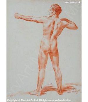 Mythical Figure Art Prints by Mervyn Suart | MervArt