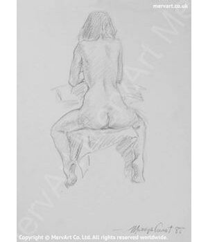 Naked Female Art Prints by Mervyn Suart | MervArt