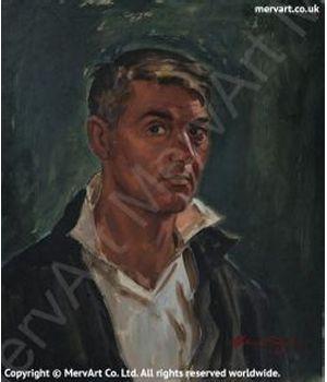 Self-Portrait Art Prints by Mervyn Suart | MervArt