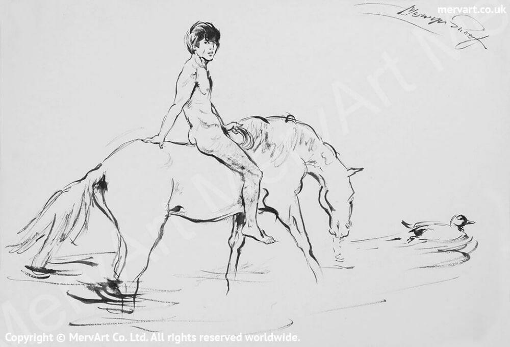 Bareback rider - A joyous ride Main Image