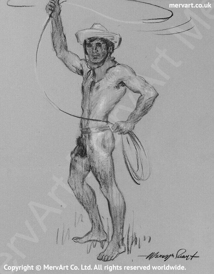 Buck - Trying to lasso something horney Main Image