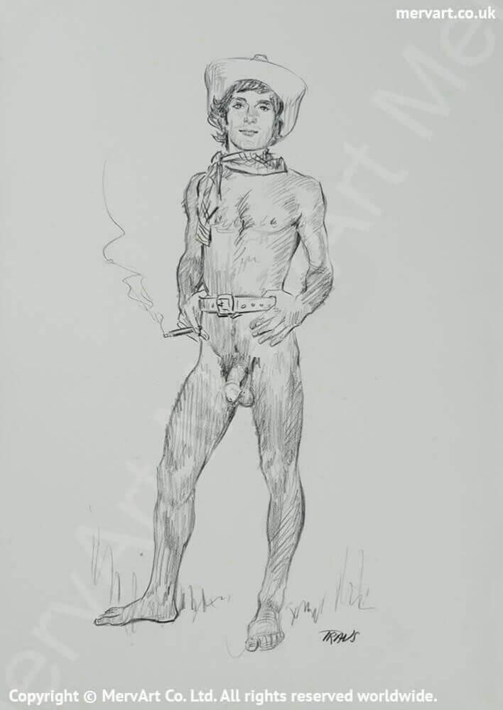 Cody - The smoking hot naked cowboy Main Image