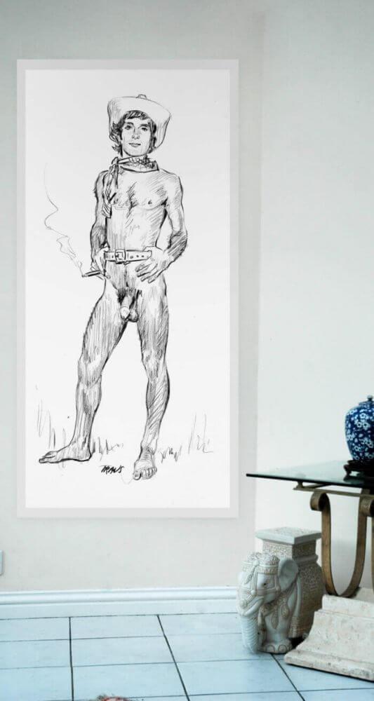Cody - The smoking hot naked cowboy Side Image