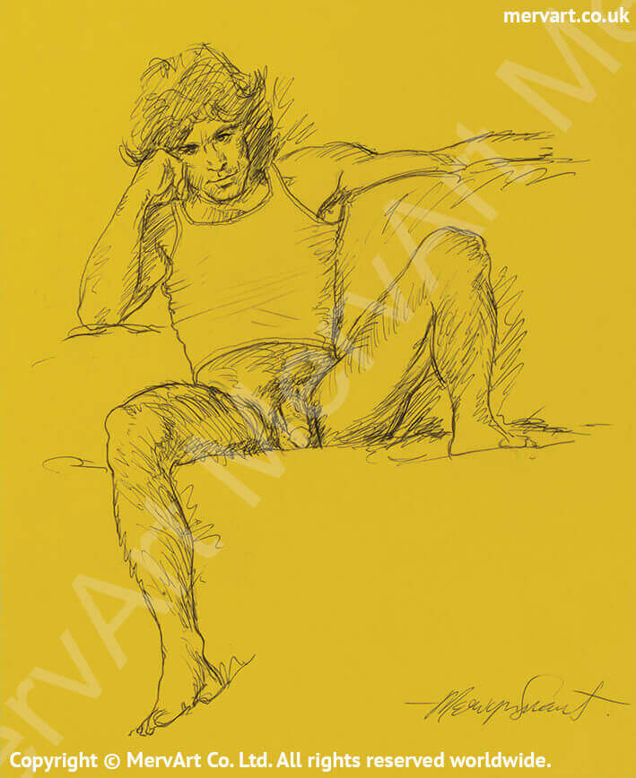 Guy - Partially clothed male Main Image