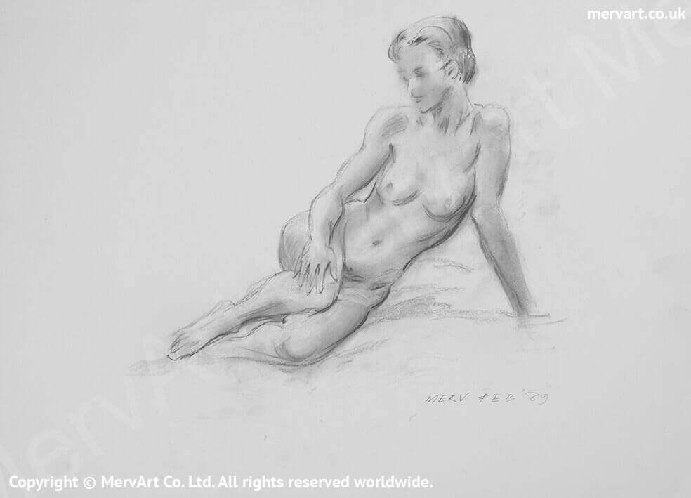 Melissa - A naked beauty dreaming of love Main Image