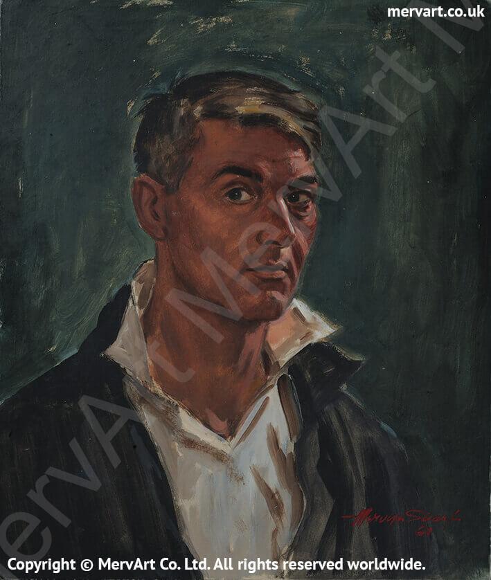 Mervyn Head & Shoulders - Self portrait 1964 Main Image